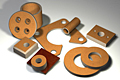 SORBTEX® Fabricated Pads, Washers, and Bushings
